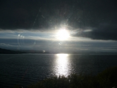 En smule sol ved aftentide/The sun peeks out at eventide