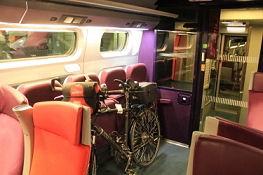 Im TGV nach Nantes