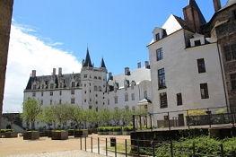 Nantes, Château des ducs de Bretagne, Innenhof