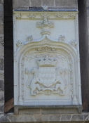 Nantes, Château des ducs de Bretagne, Wappen