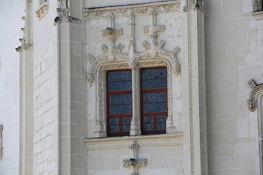 Nantes, Château des ducs de Bretagne, Detail am Grand Logis