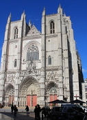 Nantes, Kathedrale, Hauptfassade