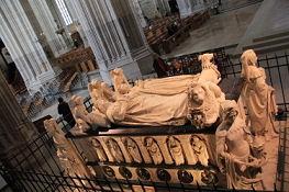 Nantes, Kathedrale, Renaissance-Grabmal des Herzogs Franz II. u. seiner Gemahlin Margarethe von Foix