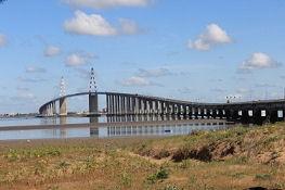 Blick zurück auf die Brücke