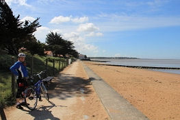 Strandpromenade in Saint-Brevin-les-Pins