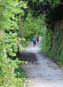 Loire-Radweg vor Saint-Jean-de-Boiseau