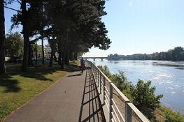 Nantes stadtauswärts