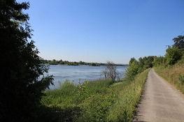 Loire-Radweg bei Épiré