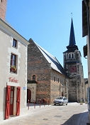 Kirche in Savennières