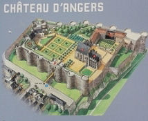Château in Angers