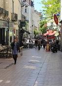 Strassencafés in Angers
