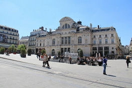 Place du Ralliemont in Angers
