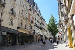 Rue Lenepveu in Angers