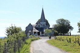 Kirche zwischen Souzay-Champigny und Parnay