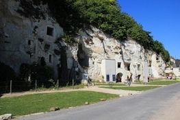 Höhlen bei Tourquant