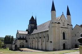 Abteikirche in Fontevraud