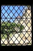 Fontevraud, Blick vom Dormirium auf den Klostergarten
