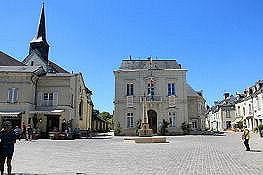 Fontevraud, vor der Klosterstadt