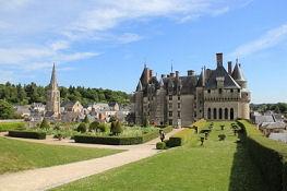 Langeais, Château und Ort