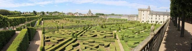 Château de Villandry, Zier- und Gemüsegarten