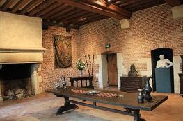 Amboise, Château du Clos Lucé, Großer Renaissancesaal