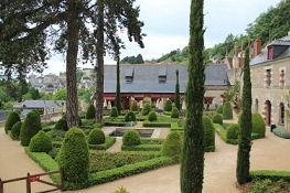 Amboise, Château du Clos Lucé, Garten