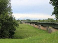 Briare, Kanalbrücke über die Loire