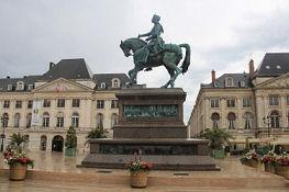 Jeanne d'Arc Denkmal in Orléans