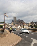 Nevers von der Loire-Brücke