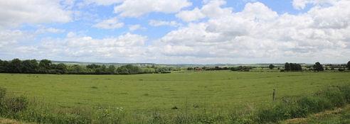Landschaft bei Fleury-sur-Loire