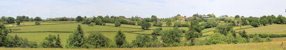 Landschaft bei Champlecy