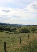 Charnay, Blick zurück ins Tal