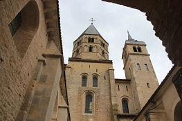 Cluny III, Reste der Kirche