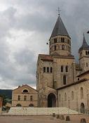Cluny III, Reste des ehem. Kirchengebäudes