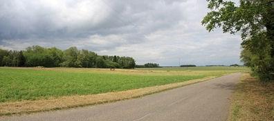 Landschaft bei Mont-lés-Seurre