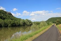 An der Doubs zwischen Thoraise und Rancenay