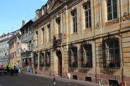 Mulhouse, Rue des Franciscains