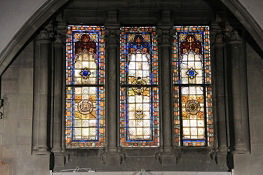 Mulhouse, Temple Saint-Étienne, Bleiglasfenster