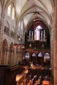Basler Münster, Orgelempore