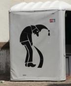 Basel, mobiles Pissoir
