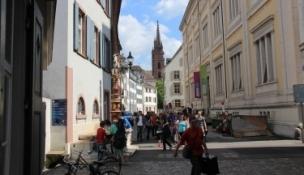 Basel, Münster vom Rheinsprung