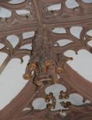 Basler Münster, Detail im Kreuzgang