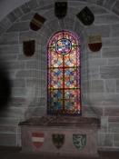 Basler Münster, Sarkophag der Königin Anna von Habsburg und ihres Sohns Karl