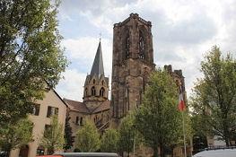 Rouffach, unvollendete Kirche Notre-Dame de l'Assomption