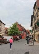 Molsheim, am Marktplatz