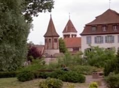 Avolsheim, Kapelle Saint-Ulrich, Kirche Saint-Materne und Haus Audéoud