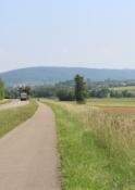 Radweg im Tal der Sauer vor Wœrth