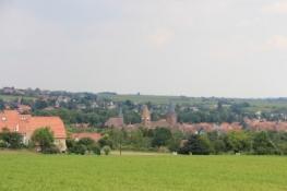 Blick auf Wissembourg