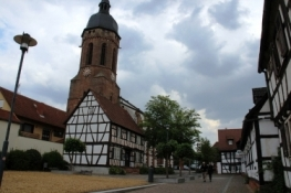 Kirchplatz in Kandel
