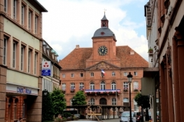 Rathaus in Wissembourg